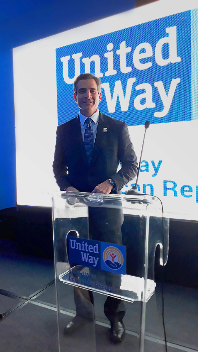 Brian Paniagua designado Miembro del Consejo de Directores de United Way República Dominicana - image Foto2 on https://gcs-international.com